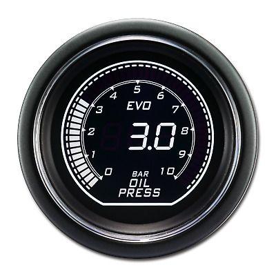 Sponsored Ebay 52 Mm Auto Digital Oil Pressure Gauge For Car White Green Lcd Display 12 V Bar Oil Pressure Pressure Gauge Gauges