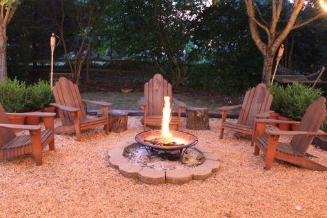 Backyard Fire Pit Diy Tiki Torches 58 Ideas Outdoor Fire Pit Seating Backyard Seating Area Backyard Fire