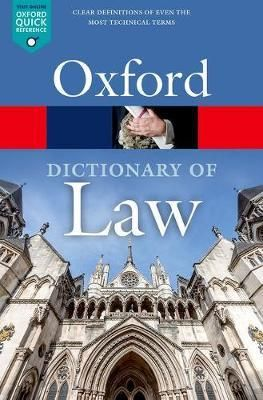 oxford law dictionary pdf free download