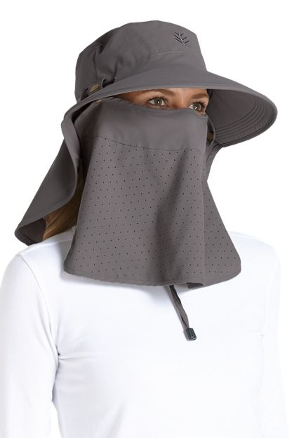 2f6d33d2 Our crushable and packable Ultra Sun Hat, offers customized protection with  a roll up neck drape and a removable face drape. Shop Sun hats for women  today!