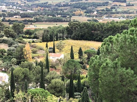 Le Castellet France A View From The Village I Love The Cypress