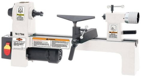 SHOP FOX W1704 1/3-Horsepower Benchtop Lathe Shop Fox http://www.amazon.com/dp/B001R23SWW/ref=cm_sw_r_pi_dp_ZOoHub1V778QH