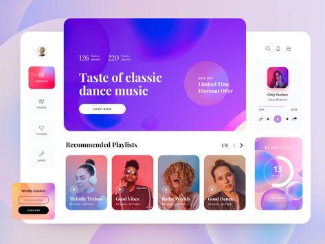Music Player Web Application