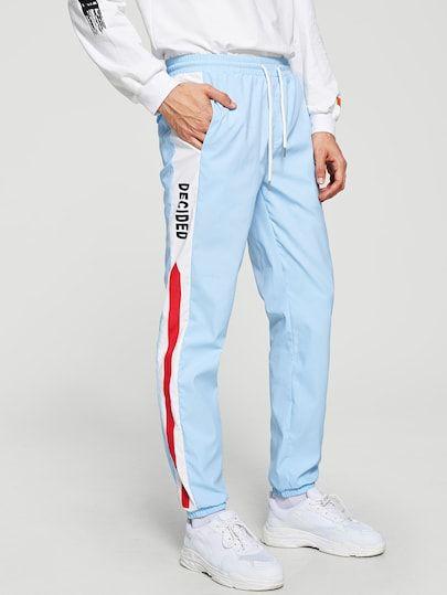 Men Womens Men Sale Shein Sheinside Conjuntos De Ropa Pantalones De Chandal Pantalones Mujer