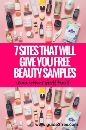 7 Sites That Will Give You Free Beauty Samples And Other Stuff Too Via Guide2free Free Beauty Samples Free Makeup Samples Free Sample Boxes