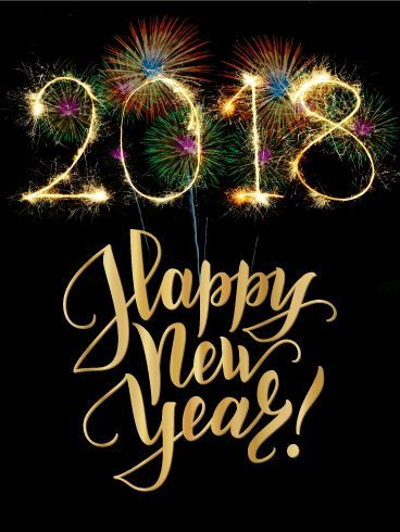 Colorful Explosion Happy New Year Card 2018 As If Fireworks On New Year S Eve Weren T Exciting E Happy New Year 2018 Happy New Year Cards New Year Card Making