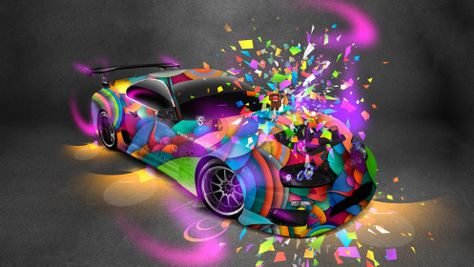 Toyota Supra JDM Style Domo Kun Toy Car 2014 Multicolors HD Wallpapers Design By Tony Kokhan [www.el Tony.com]  | El Tony.com | Pinterest | Toyota Supra, Jdm ...