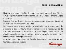 Resultado De Imagem Para Biografia Resumida De Tarsila Do Amaral