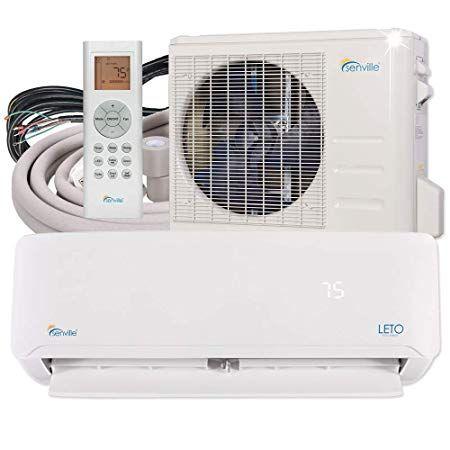 Senville Senl 18cd Mini Split Air Conditioner Heat Pump 18000 Btu 19 Seer In 2020 Quiet Portable Air Conditioner Heat Pump Window Air Conditioner