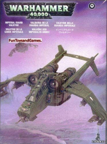 Games Workshop Warhammer 40k Imperial Guard Valkyrie Want To Know More Click On The Image This Is An Affiliate In 2020 40k Imperial Guard Warhammer Games Workshop