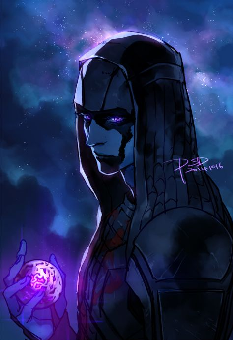 artist_name ball blue_skin dated facepaint guardians_of_the_galaxy marvel psd ronan_the_accuser signature solo violet_eyes