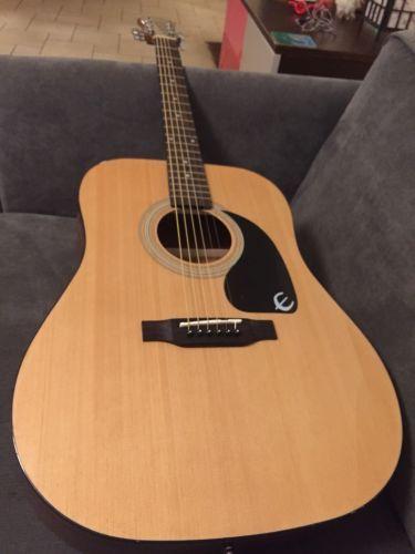 Epiphone Dr 100 Dreadnought Acoustic Guitar Natural Epiphone Guitar Acoustic Guitar