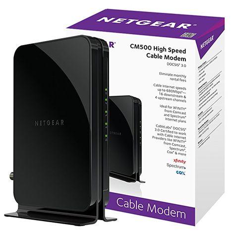 Netgear CM500-1AZNAS 686Mbps DOCCIS 3.0 Cable Modem