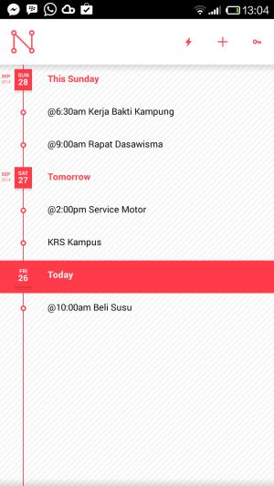 Noded Update 8211 Catatan Berbentuk Timeline Di Android Ini Sekarang Dilengkapi Dengan Widget Http Www Aplikanologi Com P 3 Android Pencatatan Aplikasi