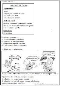 Linguagem E Afins O Caso Do Bolinho Estimulos Instrucionais E