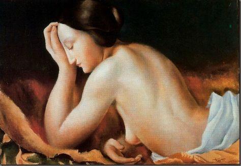 Картинки по запросу Jose de Togores (1893 – 1970) nude