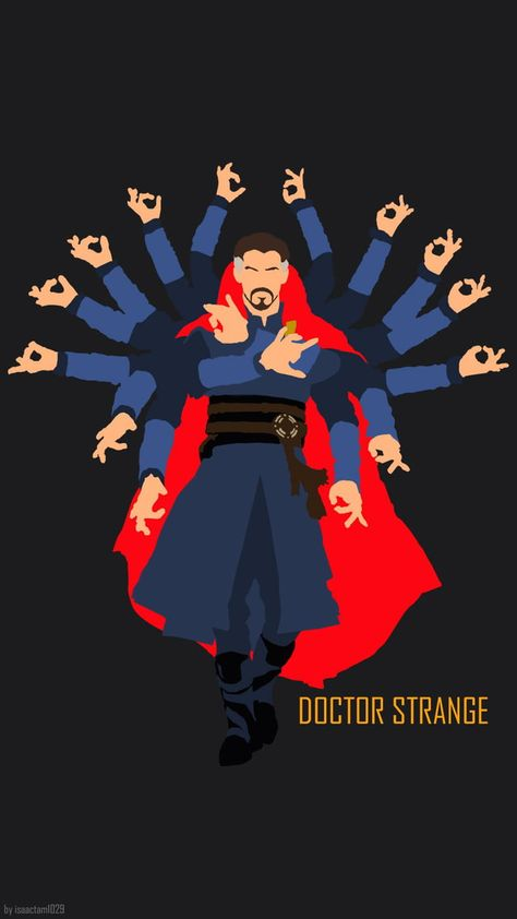 Using an official Hot Toys figure photo as reference again, I've just made a doctor strange wallpaper