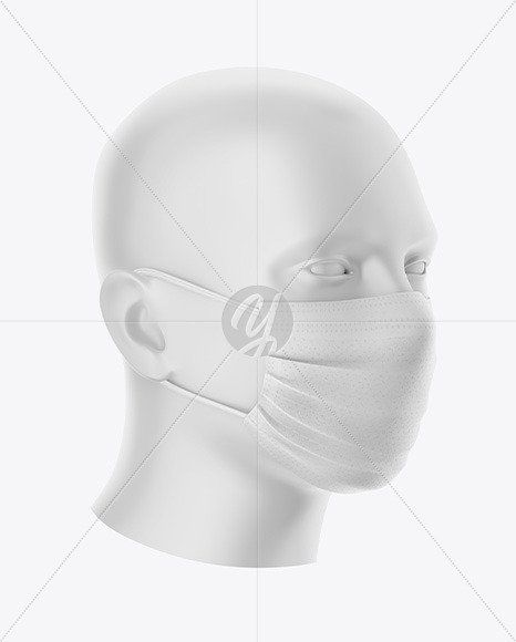 Download Lip Mask Mockup In 2020 Clothing Mockup Magazine Mockup Free Design Mockup Free