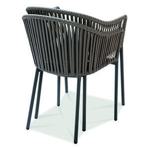 Silla Para Exterior Silla Con Estructura De Aluminio Diseno De Exteriores Comodi Muebles Para Restaurantes Mobiliario Para Restaurante Muebles Para Terrazas