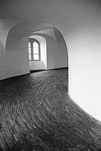 The Round Tower of Copenhagen. Photo by Ben Palmer // more info: http://www.rundetaarn.dk/en/the-tower/