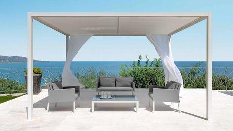 Pérgola de aluminio - TALENTI Pérgola Pinterest Pergolas - art deco mobel design alta moda luxus zu hause