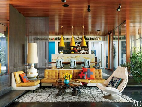"Jonathan Adler A.A Jonathan Adler known for his ""happy chic"" home furnishing & interior design Hailing from New Jersey Born in . Jonathan Adler, Simon Doonan, Architectural Digest, Best Interior, Home Interior, Interior Ideas, Interior Styling, Shelter Island, A Frame Cabin"