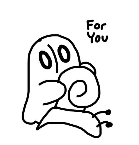 So I Made A Baby Napstablook From Undertale And Now I Want To Just