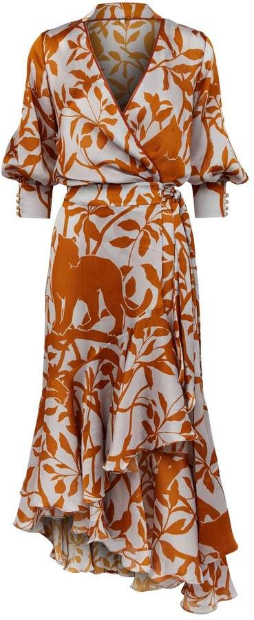 Harrods Uk The World S Leading Luxury Department Store Printed Wrap Dresses Wrap Dress Wrap Dress Styles