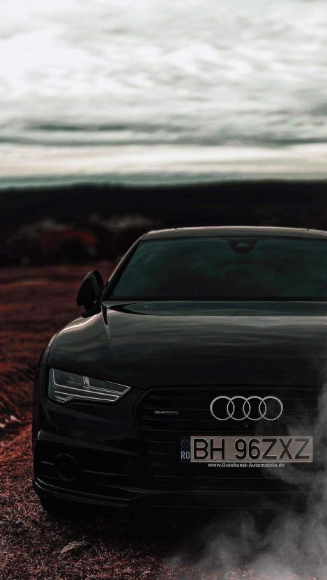 Black Audi Iphone Wallpaper Free 1 Getintopik In 2020 With