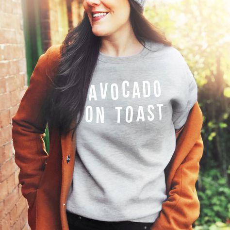 Personalised Food Slogan Sweatshirt - S / Grey / Skinny Fries