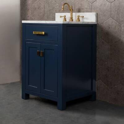 Crisler 24 Single Bathroom Vanity Set In 2020 Single Bathroom Vanity Double Vanity Bathroom Bathroom Vanity
