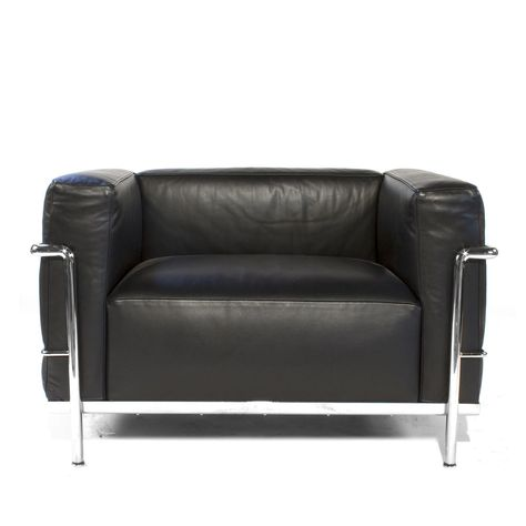 Authentic Cassina LC3 Chair By Le Corbusier Italian Armchair Lounge Modern  | Armchairs, Modern And Garden Furniture