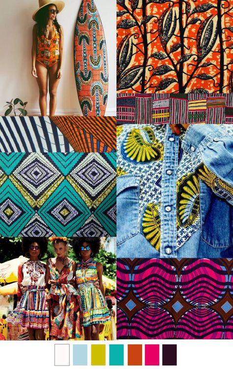 AFRO CENTRIC love the chitenge print