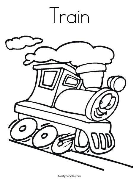 Train Coloring Page Twisty Noodle Train Coloring Pages T Is For Train Cars Coloring Pages