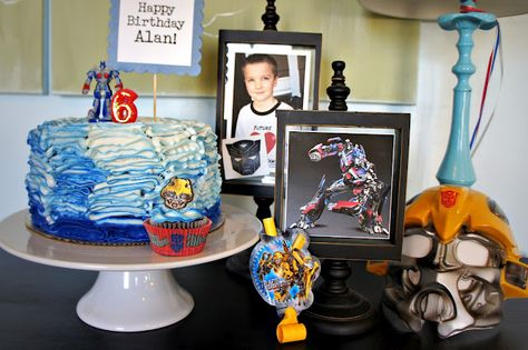 Transformers b-day party ideas.