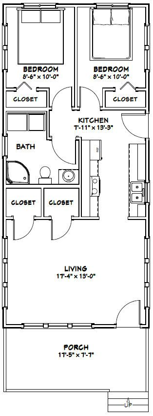 Maison en U Plan de 11 pièces et 220 m2 maison LALY Pinterest - comment calculer surface habitable d une maison