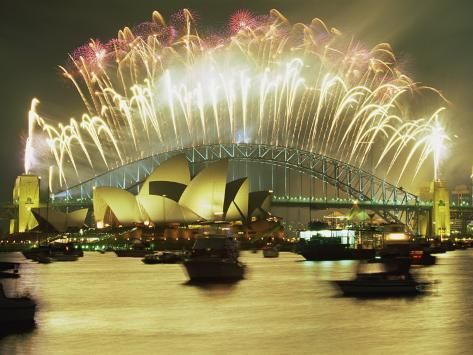 Spectacular New Year S Eve Firework Display Sydney New South Wales Australia Pacific Photographic Print Robert Francis Art Com New Years Eve Fireworks Fireworks Display Fireworks Wallpaper