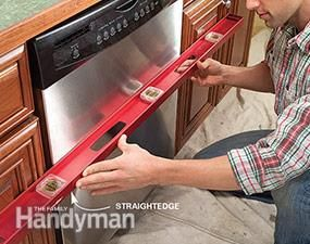 How To Install A Dishwasher In 4 Easy Steps The Family Handyman Dishwasher Repair Diy Household Tips Dishwasher Installation