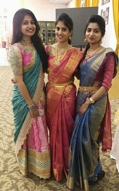 Pin By Pasupathy A On Designers Half Saree Designs Silk Saree Blouse Designs Indian Bridal Fashion