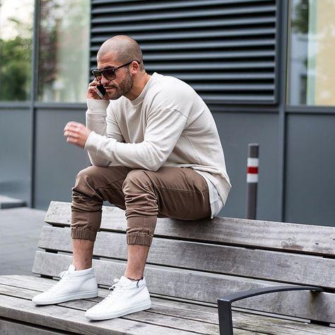 Männer outfit glatze für mit Männerschnitt