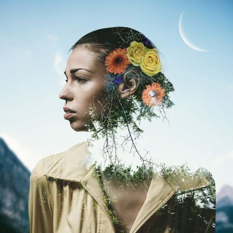How to create stunning double exposures in Photoshop in a few very easy steps - DIY Photography