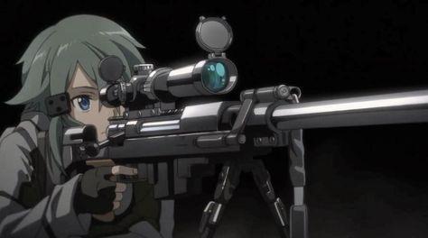 Sinon   Asada Shino   Sword Art Online II 'Cold Hearted Sniper'   SAOII