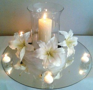 Hurricane Vase Centerpieces Long Island Weddings Jeannine Pinterest Centerpiece And