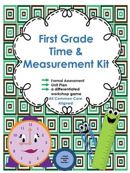 First Grade Fractions Unit Kit  Formal Assessment Common Cores