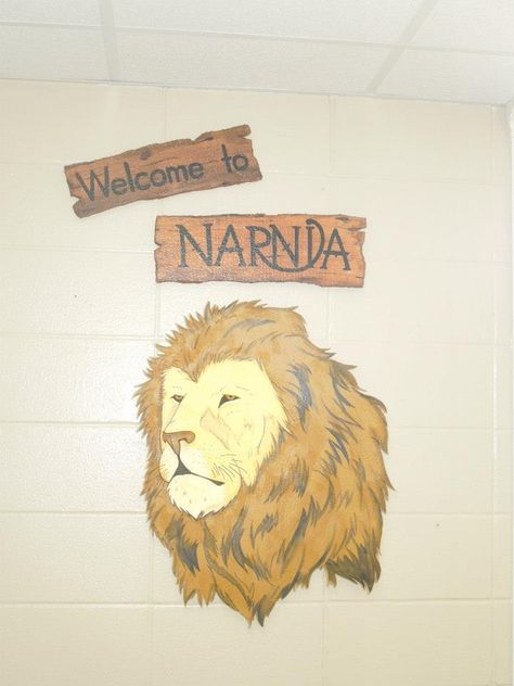 Something I made for my Narnia-themed classroom. For Narnia!...For Aslan!