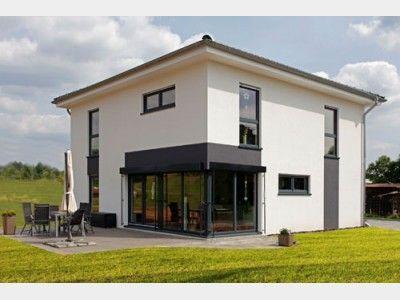 Stadtvilla modern mit erker  Stadtvilla - #Einfamilienhaus von Partner Haus | Haus XXL #modern ...