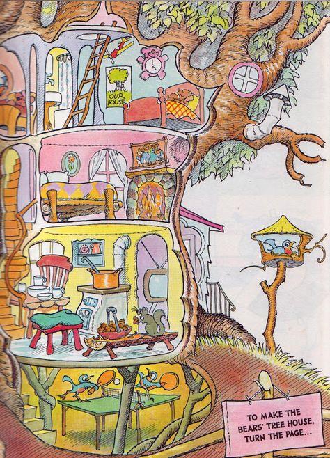 Vintage Kids' Books My Kid Loves: The Bears' Activity Book