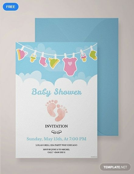 Editable Baby Shower Invitation Template Free Pdf Word Psd Apple Pages Illustrator Publisher Outlook Free Baby Shower Invitations Diaper Invitation Template Indian Baby Shower Invitations