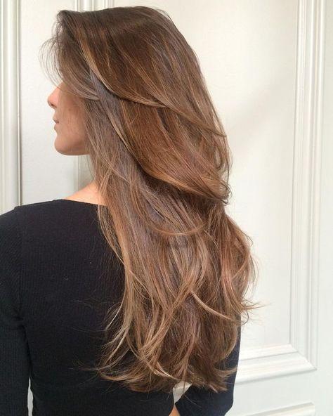 Hot Haircuts, Haircuts For Long Hair, Long Hair Cuts, Hairstyles Haircuts, Long Hair Styles, Modern Haircuts, Wedding Hairstyles, Chelsea Houska Hair, Hair Color And Cut