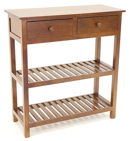 console tradition 2 tiroirs 70cm